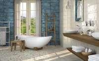 Spanyol csempék, járólapok, burkolatok kép:Montblanc Blue & Montblanc White 20×50