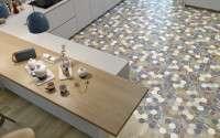 Spanyol csempék, spanyol járólapok, spanyol burkolatok kép:Dune Arte Hexagon Padlólap csempe