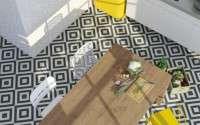 Spanyol csempék, spanyol járólapok, spanyol burkolatok kép:Vives Goroka Grafito 20×20 cm