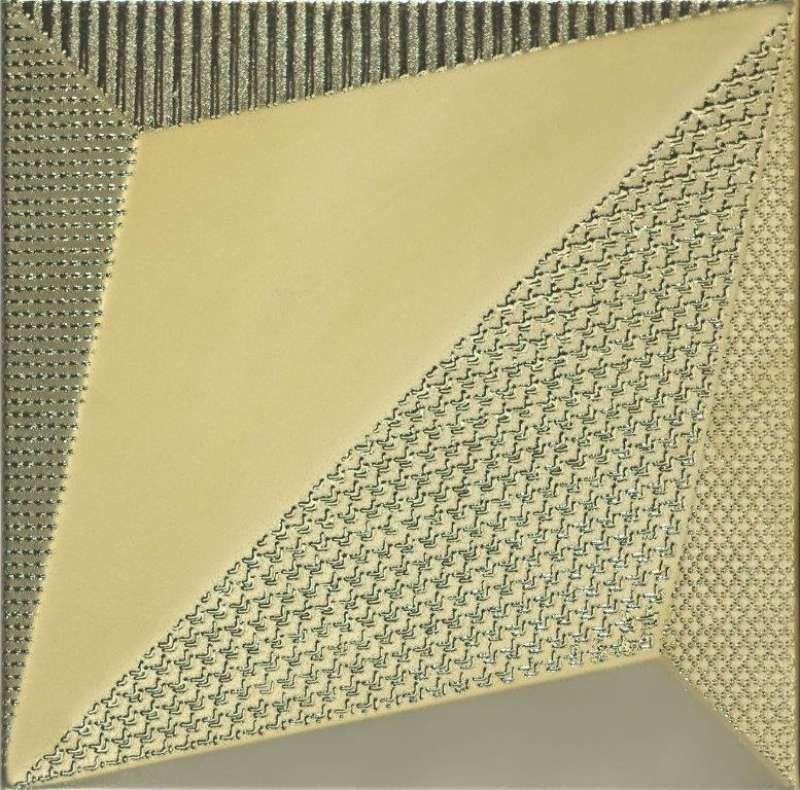 Dune origami gold