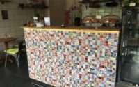 Spanyol csempék, spanyol járólapok, spanyol burkolatok kép:Andy Green tomato cafe, Stockholm